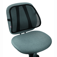 Core 487 Sitback Mesh Backrest-Black