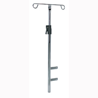 Detecto CAIP Adjustable Chrome IV Pole