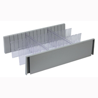 Detecto CARCDS6 6 Inch Drawer Divider Set for Rescue Cart
