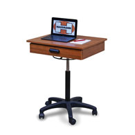 Hausmann 9210 Mobile Computer Workstation