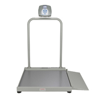 Health o meter Professional 2500KL Wheelchair Scale with Bluetooth