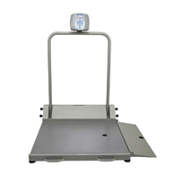 Health o meter Professional 2600KL Wheelchair Scale with Bluetooth