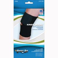 Scott Specialties SA9086-BLA-MD Sport-Aid Knee Sleeve Brace