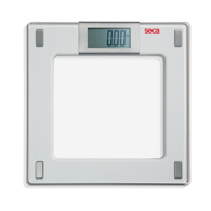 Seca 807 Aura Bathroom Scale w/ Glass Platform-330 lb/150 kg Capacity