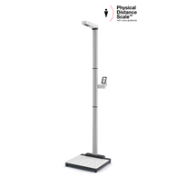 Seca EMR Physical Distancing Touch-Free Scale & Ultrasonic Height Rod