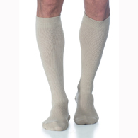 SIGVARIS 186C 15-20 mmHg Mens Casual Cotton Socks