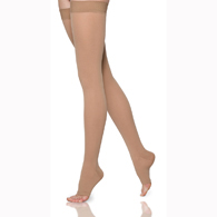 SIGVARIS 862N 20-30 mmHg Select Comfort Thigh Highs-Open Toe
