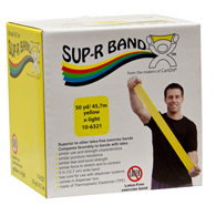 Sup-R Band Latex Free Exercise Bands-50 Yard Rolls